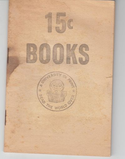 Girard: Little Blue Books. First Printing. Softcover. Good+ to very good-, some soiling, small stain...