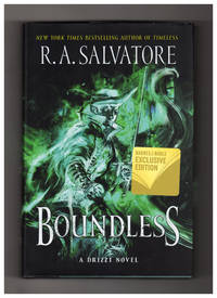 Boundless: A Drzzt Novel. B&N Exclusive Edition with Grandmaster Kane Short Story