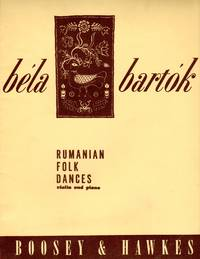 Rumanian [Romanian, Roumanian] Forl Dances - for Violin and Piano [PIANO FULL SCORE & VIOLIN PART]