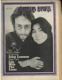 Rolling Stone ( Newspaper )  Issue # 75, Feb. 4 1970 ...interview:  John Lennon, Part Two