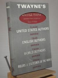 Anatole France [Twayne's World Authors Series]