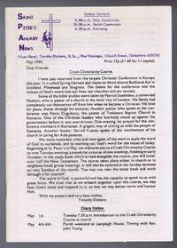 Saint Peter's Anlaby News & York Diocesan Leaflet - May 1990