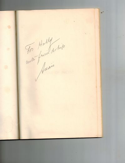 Denver: Alan Swallow, 1959. SIGNED AND INSCRIBED BY AUTHOR on front end page -
