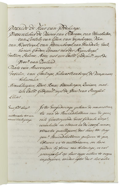 [Collection of 9 sets of manuscript...