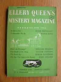 Ellery Queen's Mystery Magazine August 1957