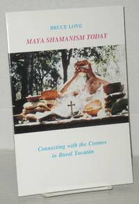image of Maya shamanism today, connecting with the cosmos in rural Yucatan