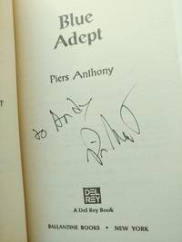 Blue Adept (*signed by author)