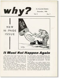 Why? An Anarchist Bulletin. Vol. 5, no. 7 (December, 1946)