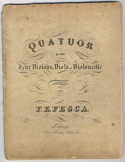 Leipzig: Frédéric Hofmeister , 1819. Folio. Disbound. Violino primo: (title), 2-12 pp.; Violino se...