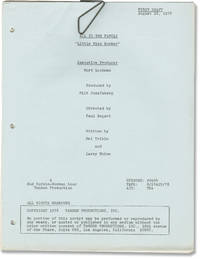 image of All in the Family: Little Miss Bunker (Original screenplay for the 1978 television episode)