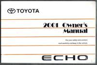 Toyota Echo 2001 Owner's Manual