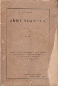 Official Army Register for 1852