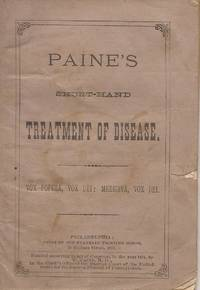 New School Treatment Reduced to a Science (19th Century Pamphlet)