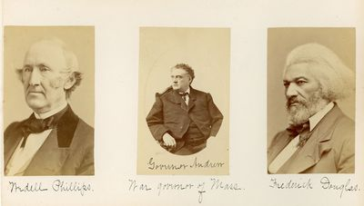 Album of Albumen Portraits of Noted...