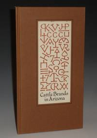CATTLE BRANDS IN ARIZONA, A Bibliography of Territorial and State Brand Registration Books