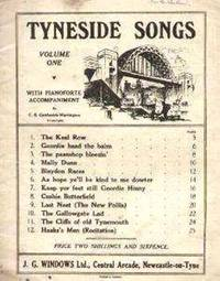 Tyneside Songs, Volume 1