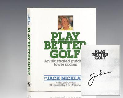New York: Galahad Books, 1988. First edition of this golf instructional Quarto, original green cloth...