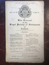 The Journal of Antiquaries of Ireland Part 1. Vol.XXXV March Original 1905 Edition On A Prehistoric Burial in A Cairn Near Knockma County Galway