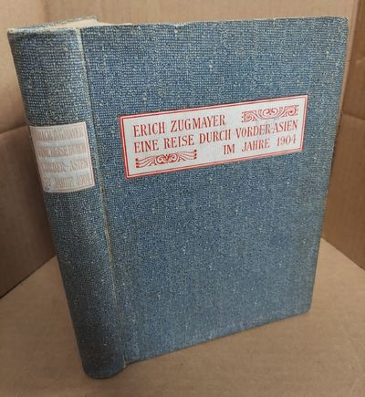 Berlin: Dietrich Reimer, 1905. First edition. Hardcover. Quarto; xi, (i), 410, (1) pp. Illustrated w...