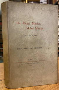 image of The King's Missive, Mabel Martin and Later Poems