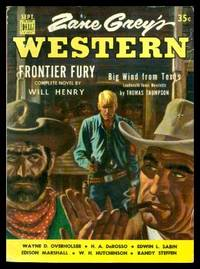 ZANE GREY'S WESTERN MAGAZINE - Volume 6, number 7 - September 1952