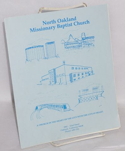 Oakland: North Oakland Missionary Baptist Church, 1987. including covers, 7x8.5 inches, interior pho...