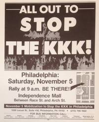 All out to stop the KKK! [poster]