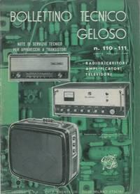 Bollettino tecnico Geloso n° 110/111
