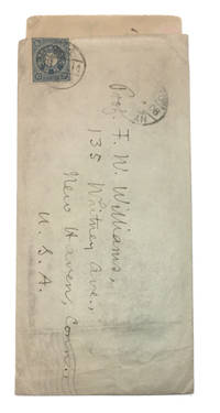 Autograph Letter, Signed sent from Waseda University in Tokyo to F[rederick]. W[ells] Williams in New Haven. Dated  6 -27 - 06