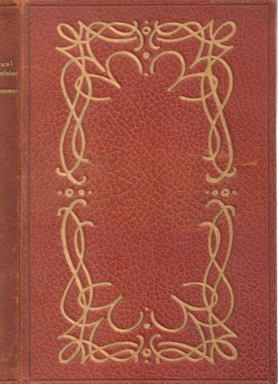 Very Good. Hardcover. Numbered 18/480, this edition on Van Gelder paper. Privately bound, contempora...