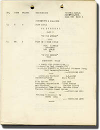 image of Up for Murder (Post-production script for the 1931 film)