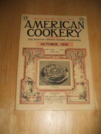 image of American Cookery for October 1938