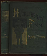 image of ADVENTURES OF HUCKLEBERRY FINN. (TOM SAWYER'S COMRADE). SCENE: THE MISSISSIPPI VALLEY. TIME: FORTY TO FIFTY YEARS AGO