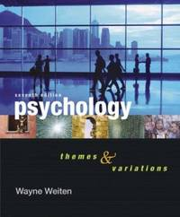 image of Psychology : Themes and Variations