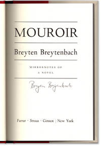image of Mouroir: Mirrornotes of a Novel.