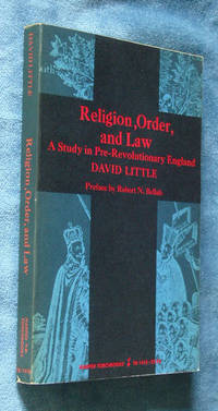 image of Religion, Order, and Law: a Study in Pre-Revolutionary England