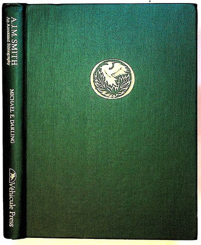 Montreal: Vehicule Press, 1981. Hardcover. Fine. Hardcover. First edition. Green buckram with gilt t...