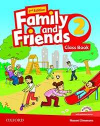 Family and Friends: Class Book with Student MultiROM: Level 2 by OXFORD UNIVERSITY PRESS - Paperback - 2014-01-16 - from Books Express (SKU: 0194808300)