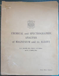 Chemical and Spectrographic Analysis of Magnesium and its Alloys