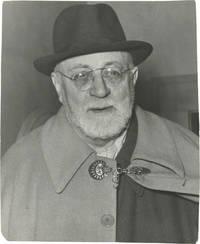 image of Original photograph of Henri Matisse, circa 1950s