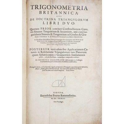 Trigonometria Britannica: sive de...