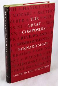 image of Great Composers: Reviews and Bombardments by Bernard Shaw