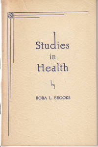 image of Studies in Health  [SCARCE, Association Copy]
