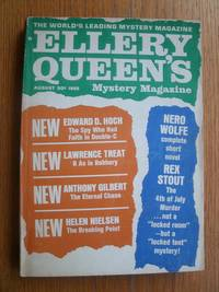 Ellery Queen's Mystery Magazine August 1965