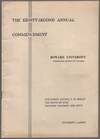 (Program): The Eighty-Second Commencement Howard University. 1950