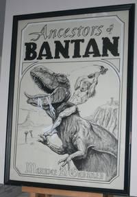 [ ORIGINAL BOOK COVER ART ] for Ancestors of Bantan  by Maurice B. Gardner