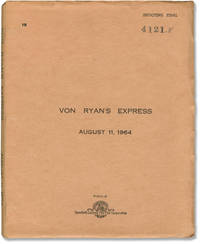 image of Von Ryan's Express (Original Screenplay for the 1965 film)