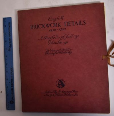 London/New York: Architectural Press/W. Helburn, 1932. Hardcover. Good+ (soiling to boards, smudging...