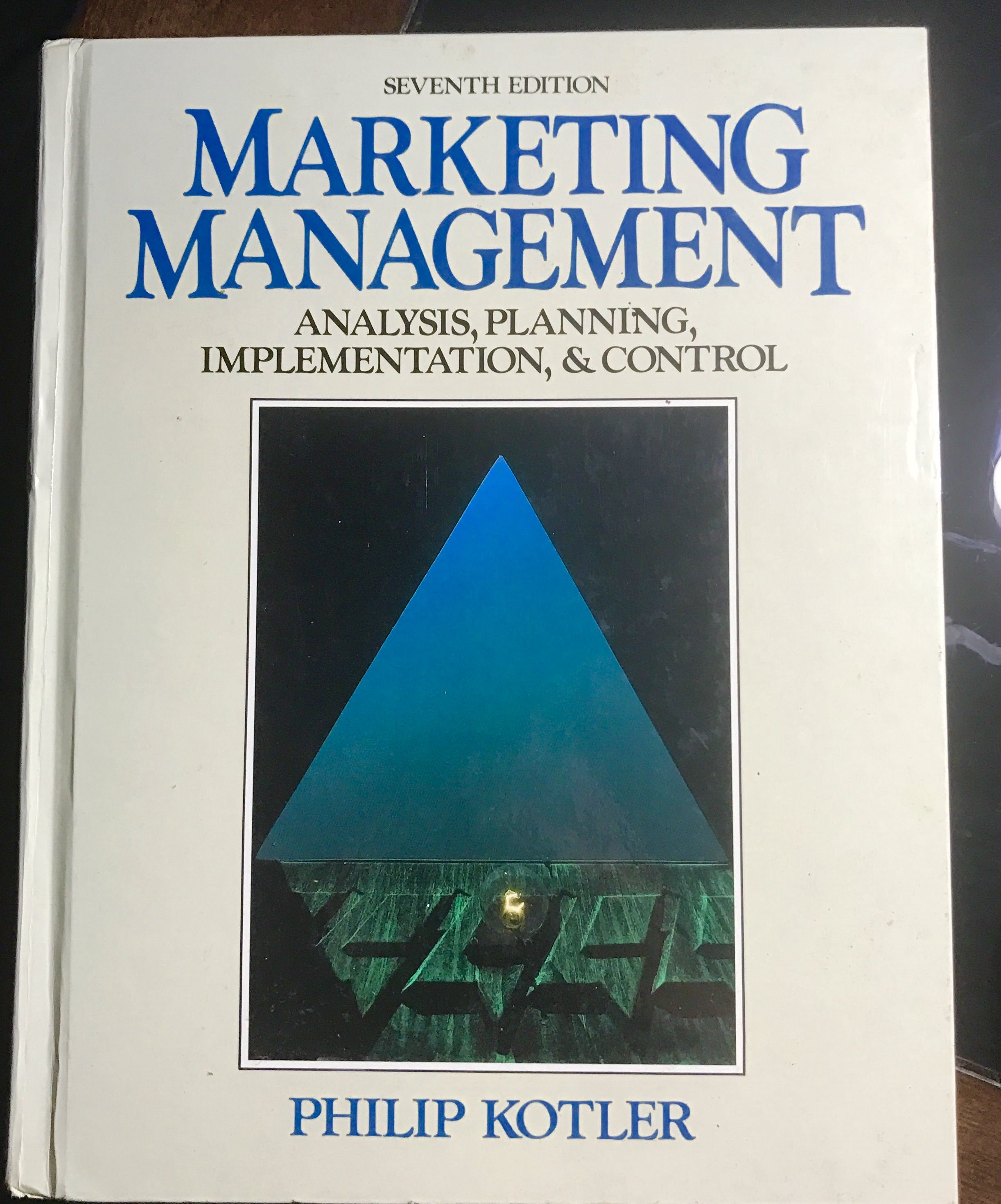 Marketing Management Analysis Planning Implementation And