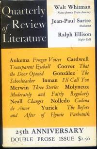 Quarterly Review of Literature Vol. XVI, Nos. 3&4